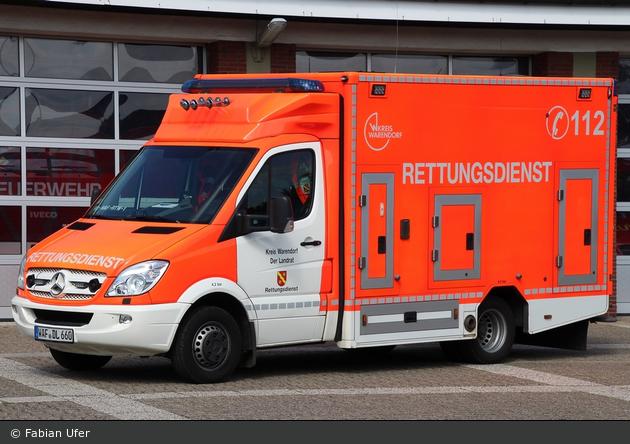 Rettung Warendorf xx RTW xx