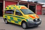 Munkedal - Västra Götaland Ambulanssjukvård - RTW - 3 54-9810