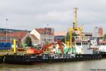WSA Bremerhaven - Baggerschiff - Franzius Plate