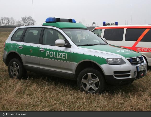 Dresden - VW Touareg - FuStW Wasserschutz