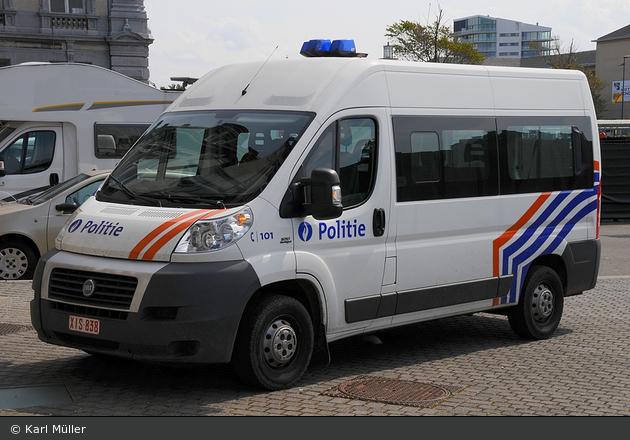 Oostende - Federale Politie - leMKw
