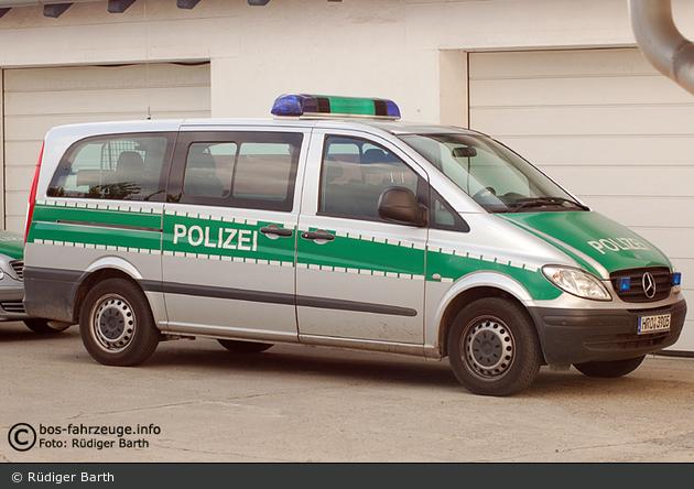 Sassnitz - MB Vito - FuStW WSP (a.D.)