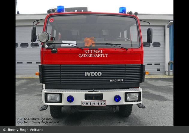 Nuuk - Brandvæsen - Autosprøjte - M1