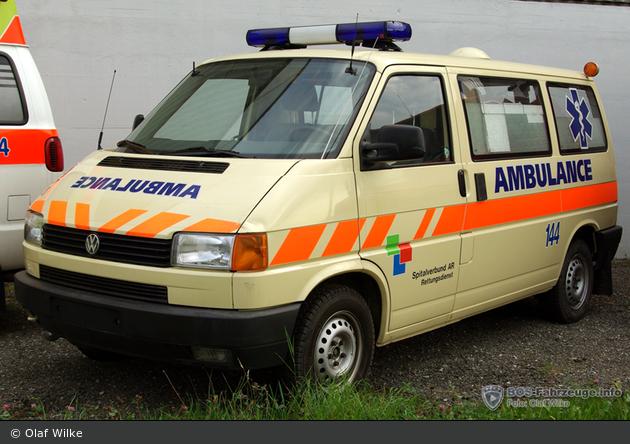 Herisau - Spitalverbund AR - KTW - HERA 603 (a.D.)
