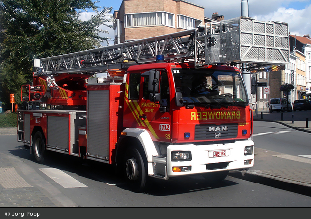 Gent - Brandweer - DLK - 33