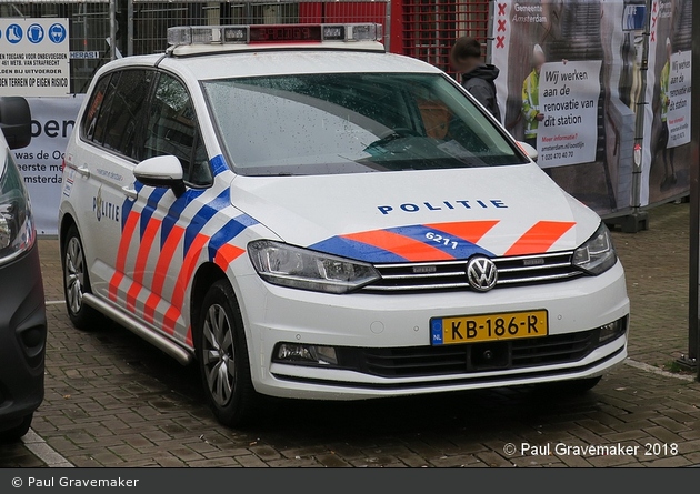 Amsterdam - Politie - FuStW - 6211