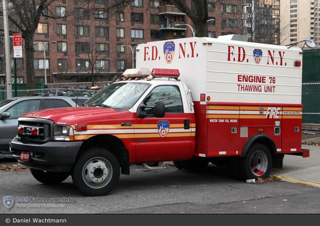 FDNY - Manhattan - Thawing Unit 76 - GW-Auftau