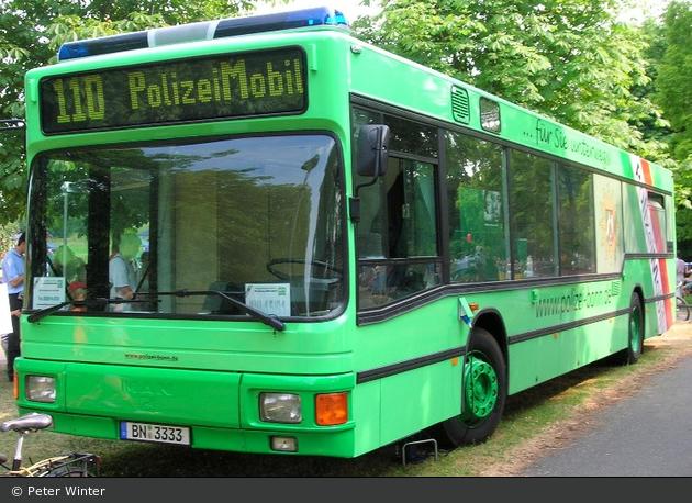 Bonn - MAN - Info-Bus Linie 110