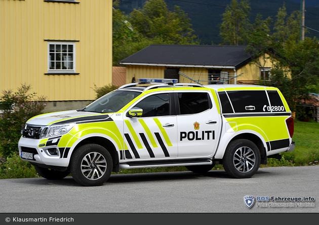 Dombås - Politi - FuStW - 4361