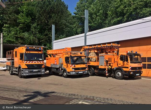 Kassel - Kasseler Verkehrs Gesellschaft - Wartungsfahrzeuge