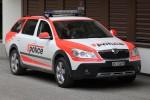 Zermatt - KaPo Wallis - Patrouillenwagen