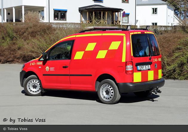 Bankeryd - Räddningstjänsten Jönköping - IVPA-/FiP-bil - 2 43-1608