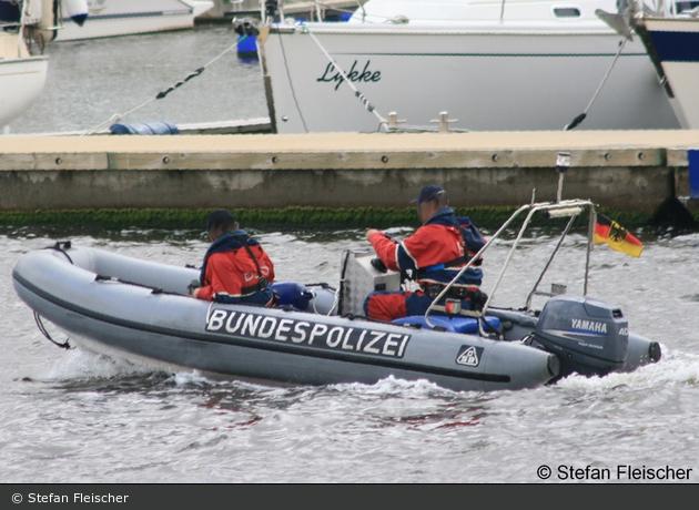Bundespolizei - Mecklenburg Vorpommern - Schlauchboot