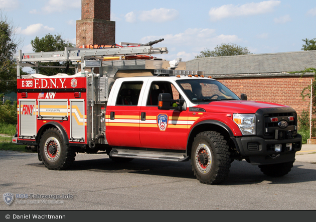 FDNY - Queens - All-Terrain Response Vehicle 329 - SW