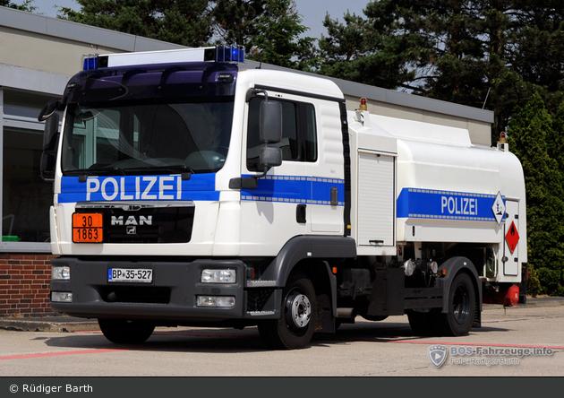 BP35-527 – MAN TGL 12.220 - Landebasis-Kraftwagen