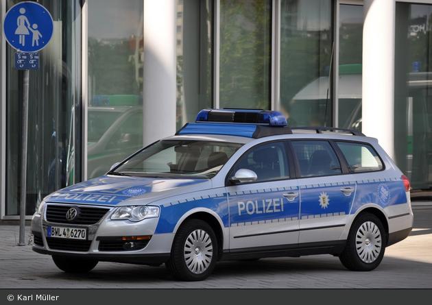 Freiburg - VW Passat - FuStW (BWL 4-6270)