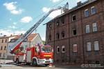 """Florian Neunkirchen 01/31 - Einsatz 04.08.2009 """"Nachlöscharbeiten Wohnhausbrand Wiebelskirchen"""""""