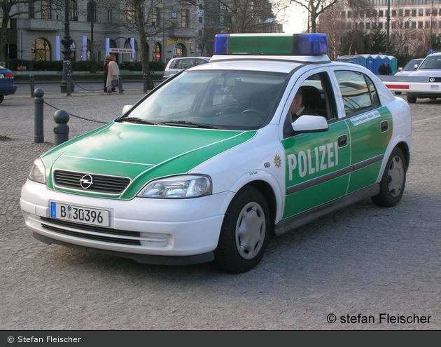 Opel Astra G - FuStW (B-30396) (a.D.)