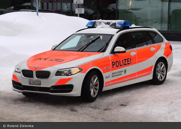 St. Gallen - KaPo St. Gallen - Patrouillenwagen - 4802