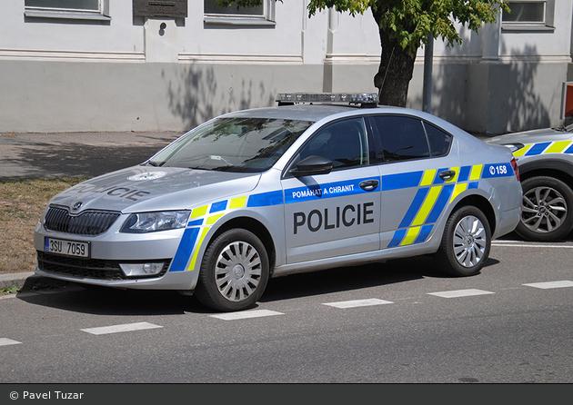Kolín - Policie - FuStW - 3SU 7059