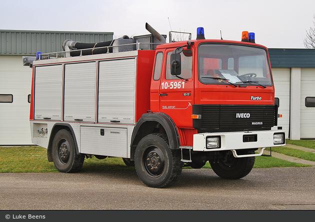 De Cocksdorp - Bedrijfsbrandweer Texel Airport - TLF - 10-5961