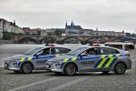 CZ - Praha - Policie - FuStW Hyundai Ioniq