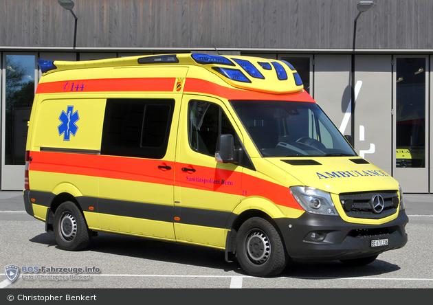 Bern - Sanitätspolizei - RTW - Sano 21