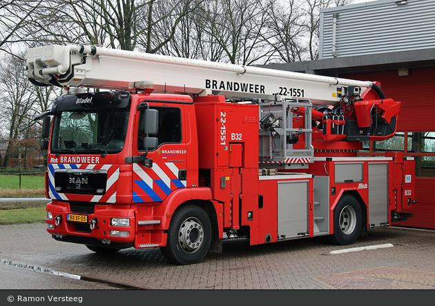Bladel - Brandweer - TMF - 22-1551