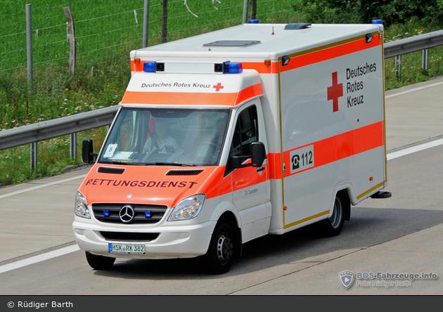 Rotkreuz Sundern RTW 01