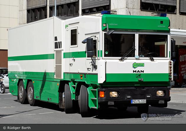 Deutsche Bundesbank 550 - MAN - Werttransporter