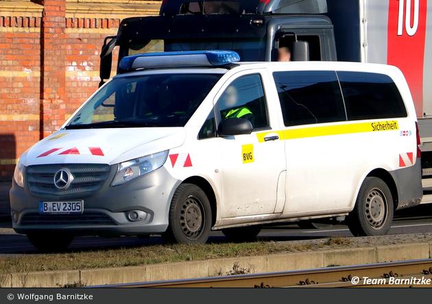 Berlin - Berliner Verkehrsbetriebe - Sicherheit (B-EV 2305)