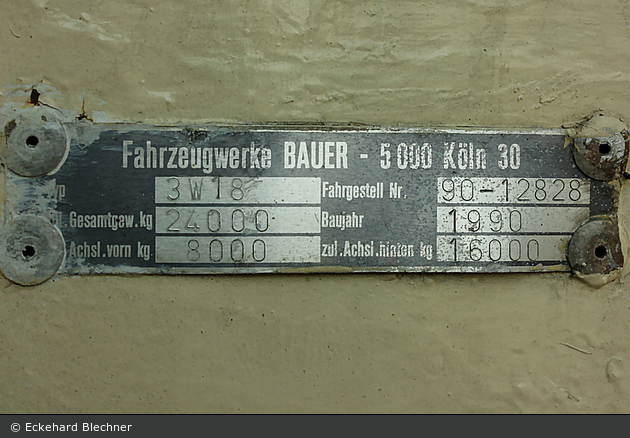Rotkreuz Hamburg 31 Anhänger (HH-RK 1846)