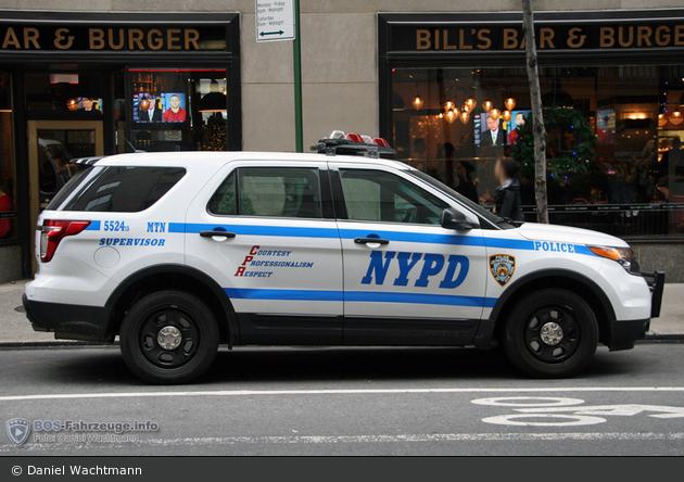 NYPD - Manhattan - Midtown North Precinct - FüKw 5524