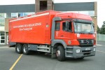 Brigade Training Centre - South Yorkshire Fire & Rescue Service - Fahrschul-LKW