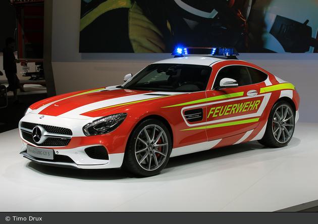 einsatzfahrzeug: mercedes-amg gt s - cars - kdow - bos-fahrzeuge