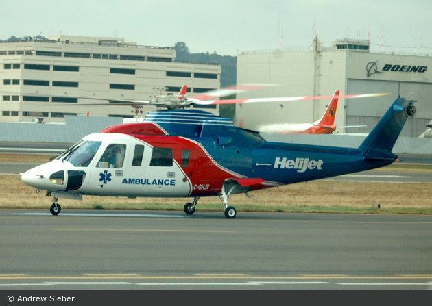 C-GHJV (Helijet Airways - British Columbia)
