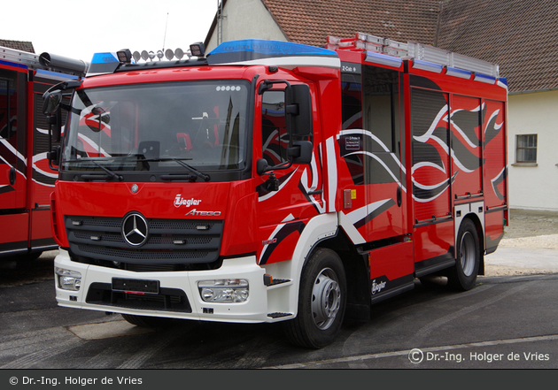 Mercedes-Benz Atego 1530 F - Ziegler - LF 10