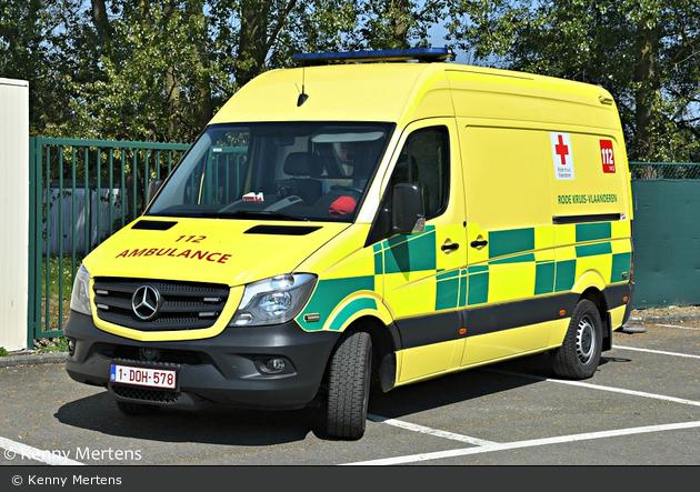 Berlaar - Rode Kruis Vlaanderen - RTW