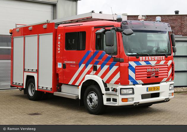 Alblasserdam - Brandweer - HLF - 18-6731