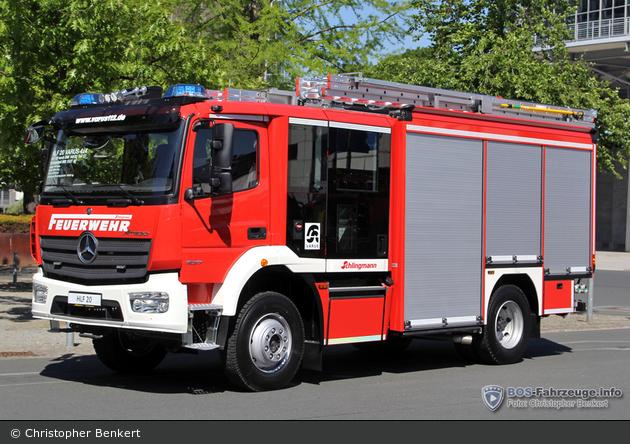 Mercedes-Benz Atego 1527 AF - Schlingmann - HLF 20 (Varus 4x4)