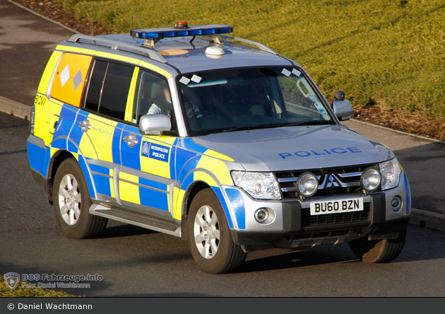 Einsatzfahrzeug London Metropolitan Police Service Road