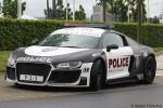 Audi R8 - Rauwers - Police Showcar