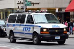 NYPD - Manhattan - Midtown North Precinct - Auxiliary Police - HGruKw 7858