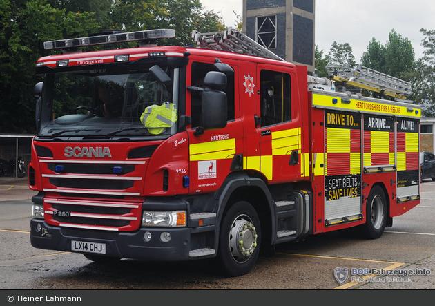 Hertford - Hertfordshire Fire and Rescue Service - WrL