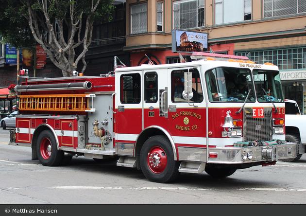 San Francisco - SFFD - Engine 013