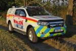 Ford Ranger - Whelen / Blue Lights Berlin - Demo-Fahrzeug