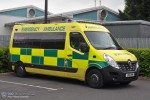 Basingstoke - Jigsaw Medical Service - Ambulance