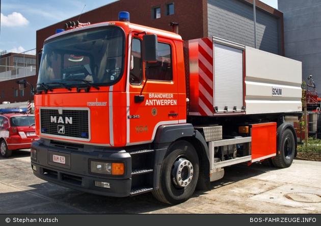 Antwerpen - Brandweer - WLF - A104