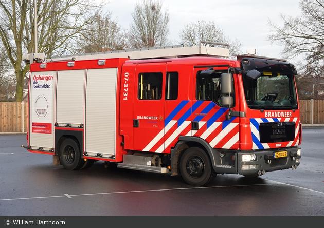 Arnhem - Brandweer - HLF - 07-3731
