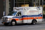NYC - Manhattan - NewYork-Presbyterian EMS - ALS-Ambulance 1820 - RTW